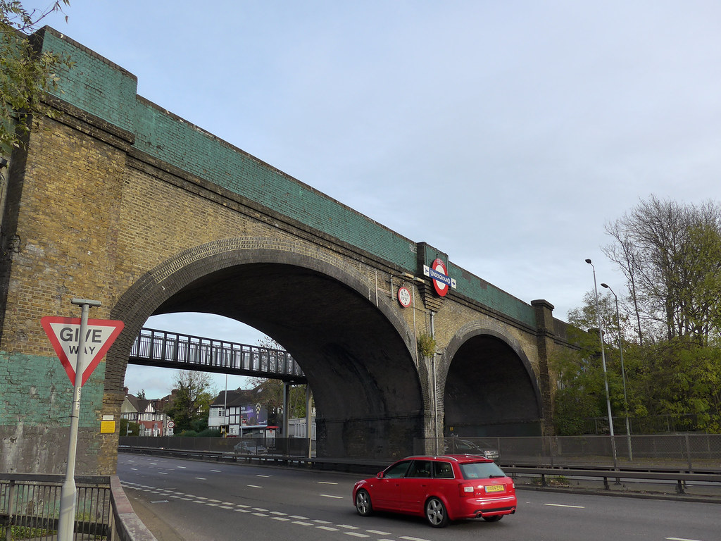 Viaduct over the North Circular