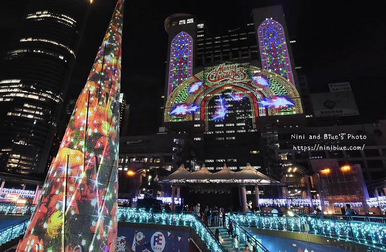 2016新北市耶誕城板橋車站景點20