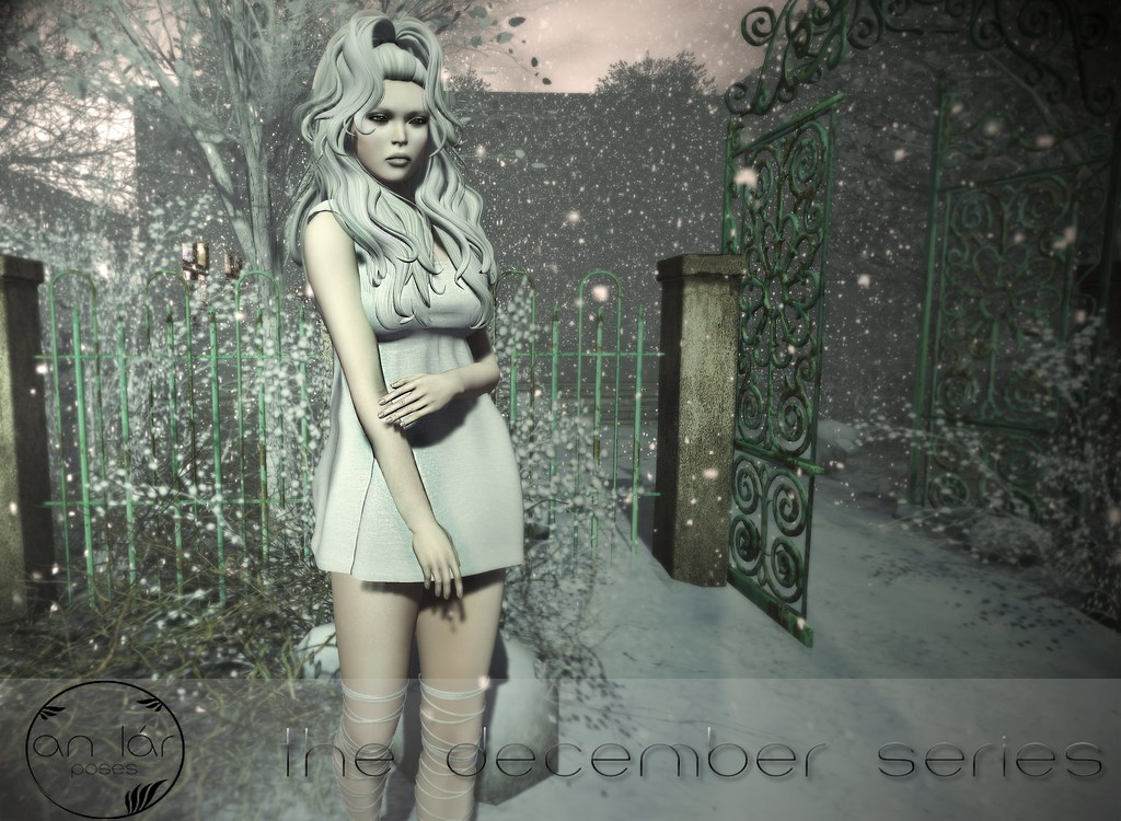 an lár [poses] The December Series - SecondLifeHub.com