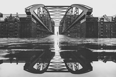 Die Speicherstadtbrücke