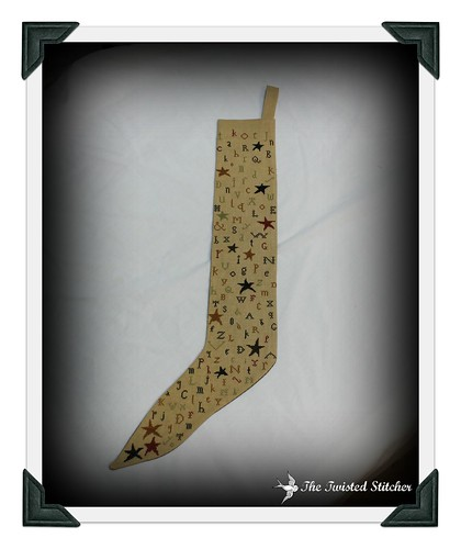 A Primitive Stocking Front