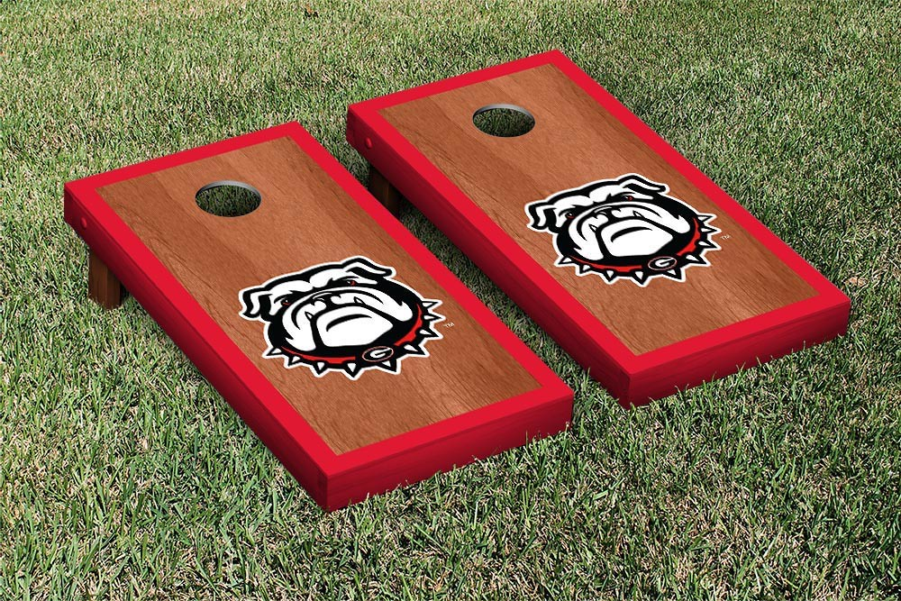 Georgia Bulldogs Rosewood Border Version 1
