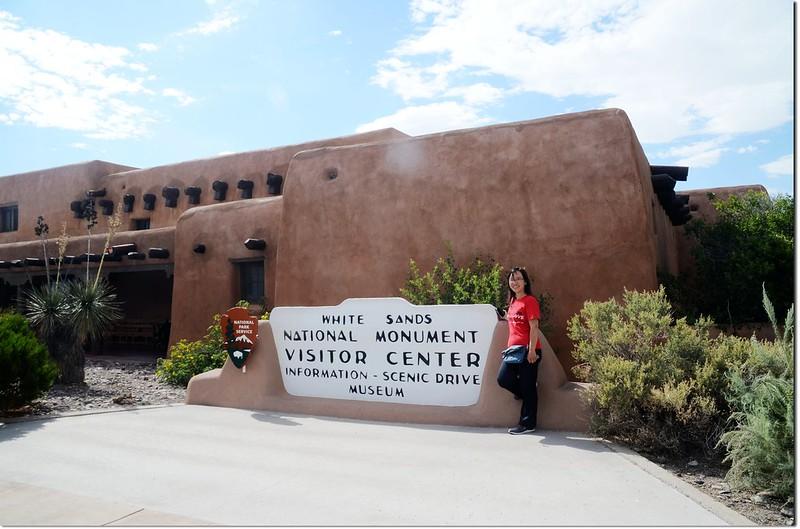 White Sands National Monument Visitor center 5