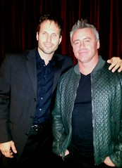 Matt LeBlanc and Tamas Menyhart - Westfield Entertainment