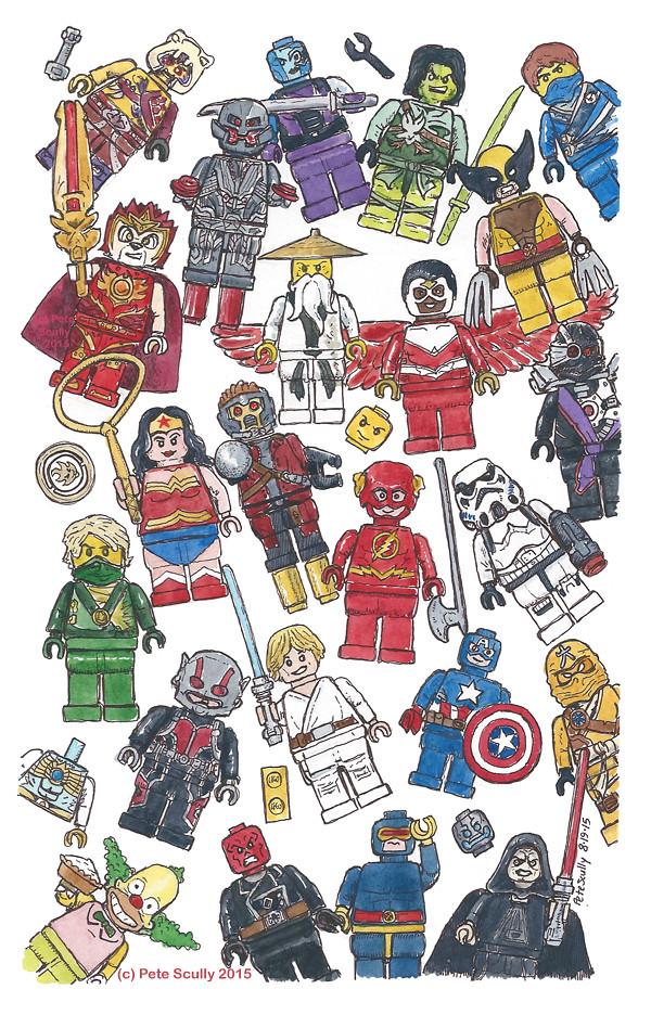 Lego figures again