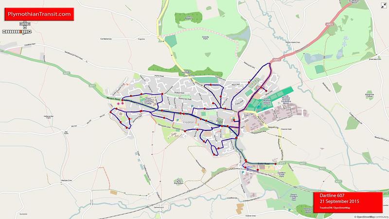 Dartline Route-607