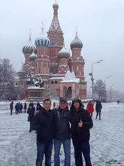 Visiting Moscow