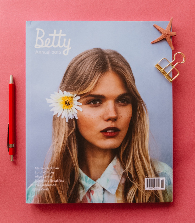 betty annual 2015 front cover