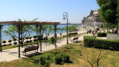 Constanta promenade  which leads to the Casino - Romania
