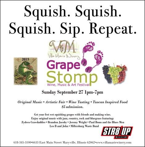 Villa Marie Grape Stomp 9-27-15
