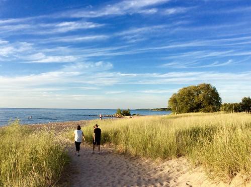 Summer memories... August 2015 .  Lake Huron