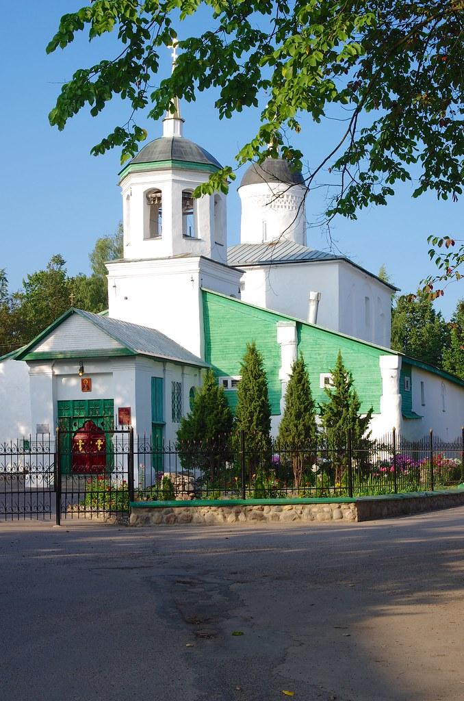 Псков, Россия, Церковь Ильи Пророка Мокрого с Луга