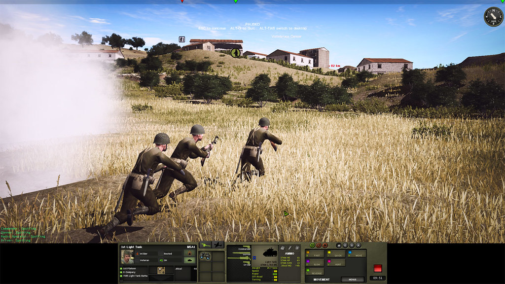 3_Combat_Mission_Fortress_Italy_War_Movie_ADVANCED_mode