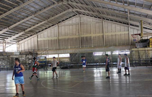 The newly-rehabilitated Roxas City Civic Center - July 2015