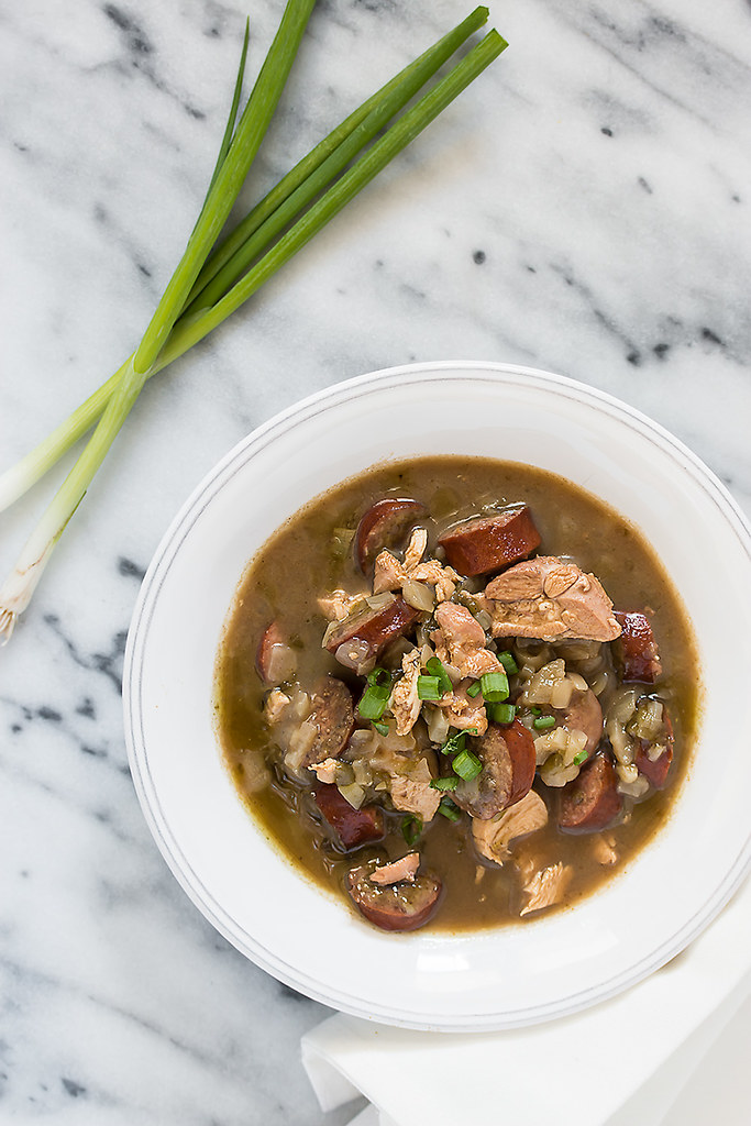 Traditional Chicken and Sausage Gumbo Recipe