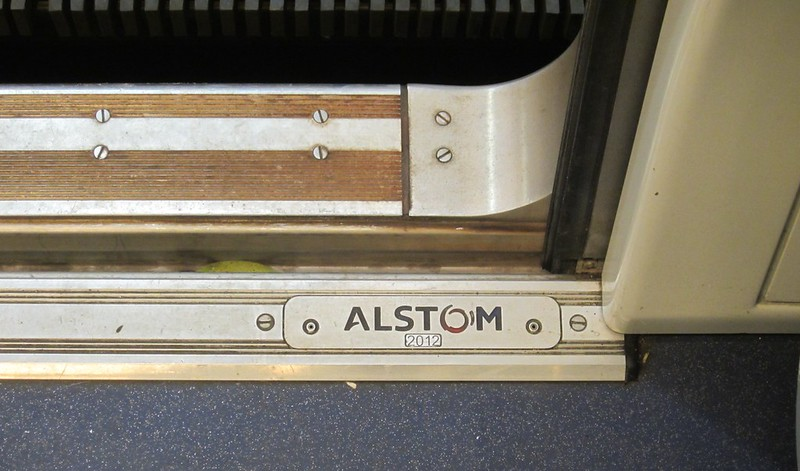 Alstom X'Trapolis train sign
