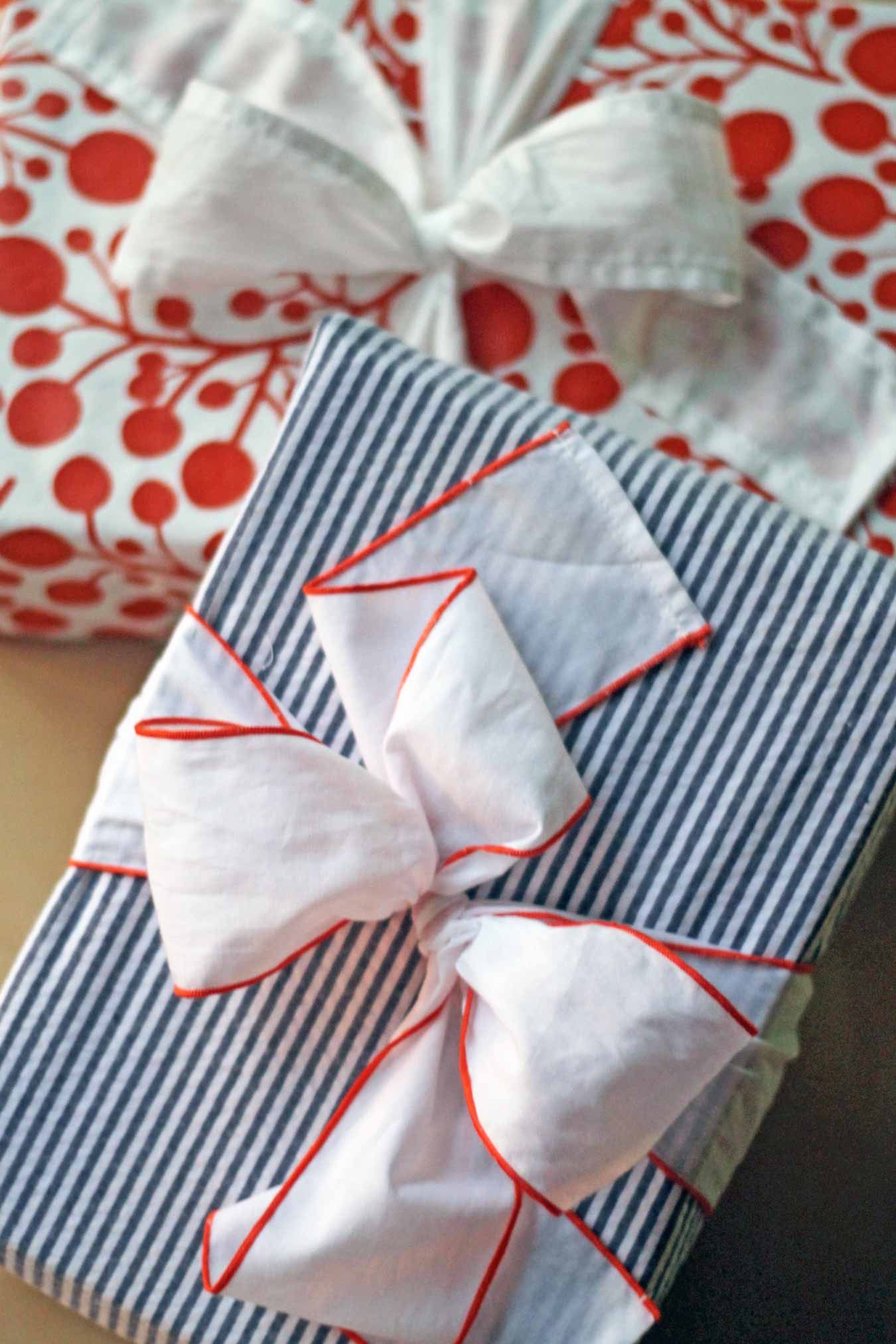 Wading In Big Shoes - Try This: Enfold Reusable Gift Wrap