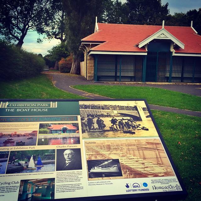Exhibition Park - Boat House