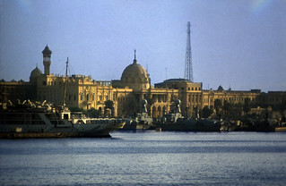 Ägypten 1983 (06) Alexandria: Ras el Tin Palace