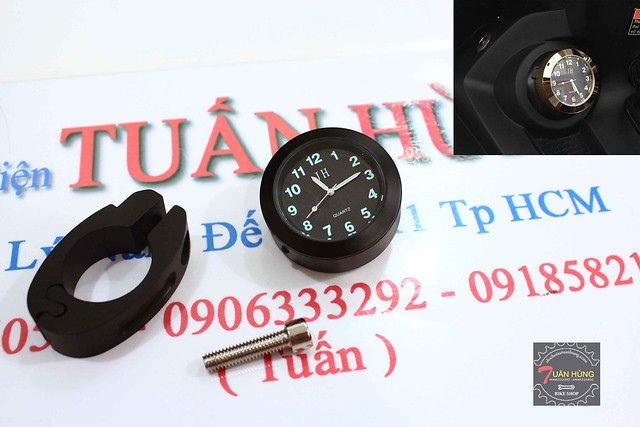 Đồng hồ xem giờ gắn cho mọi loại xe