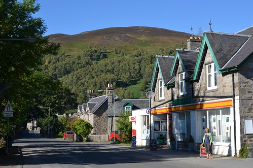 Kinloch Rannock, the community from whence came my McIntosh ancestor