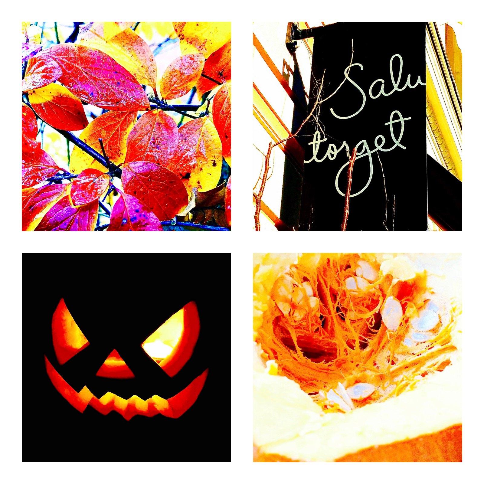 halloweenkollaasi