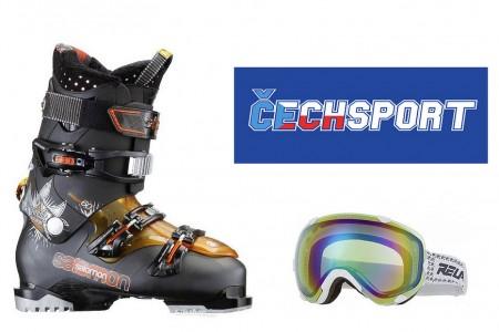 Vyhlášení soutěže s www.cechsport.cz o lyžařské boty