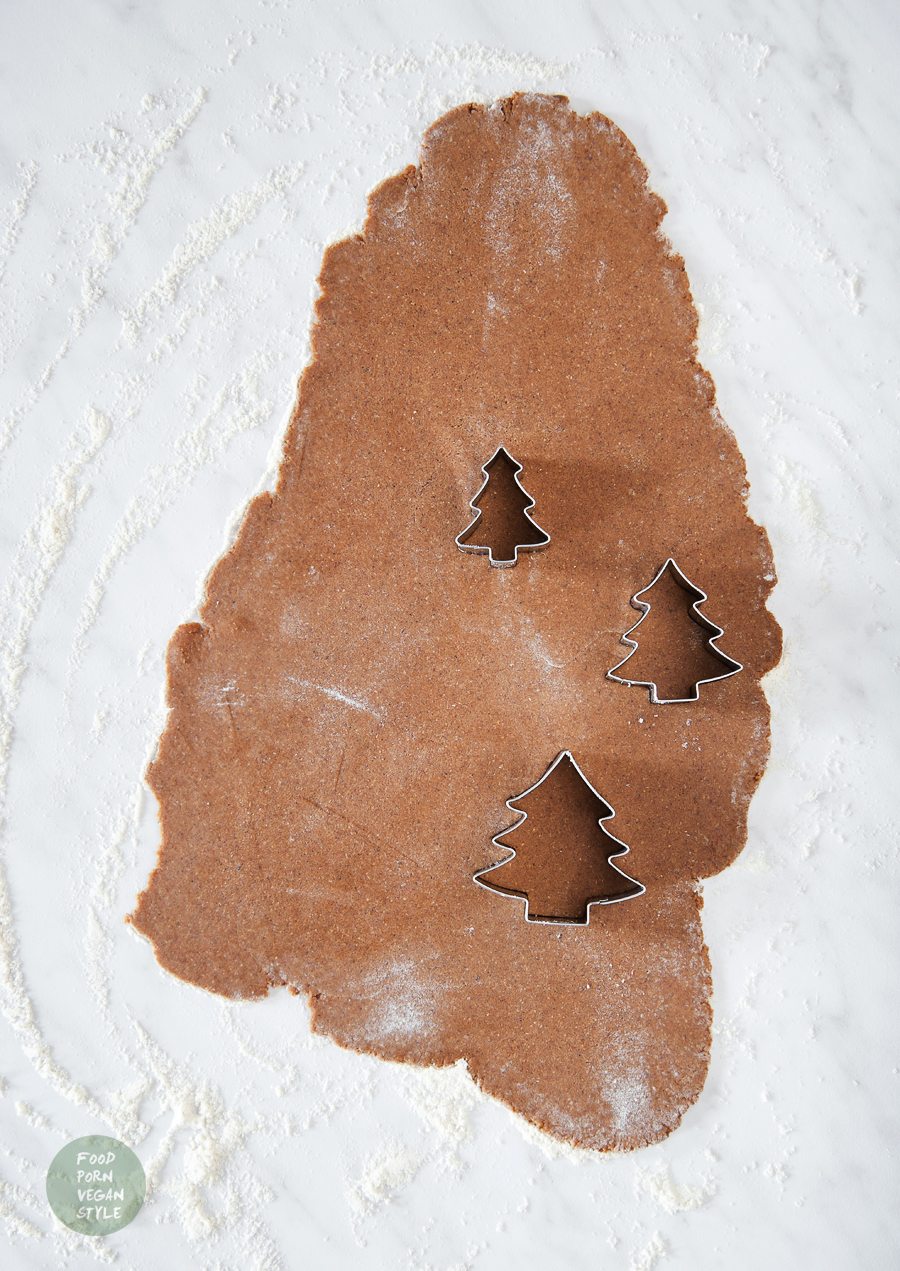 Gluten-free & vegan gingerbread cookies