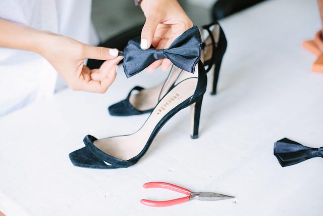 DIY Quick Bow Heels