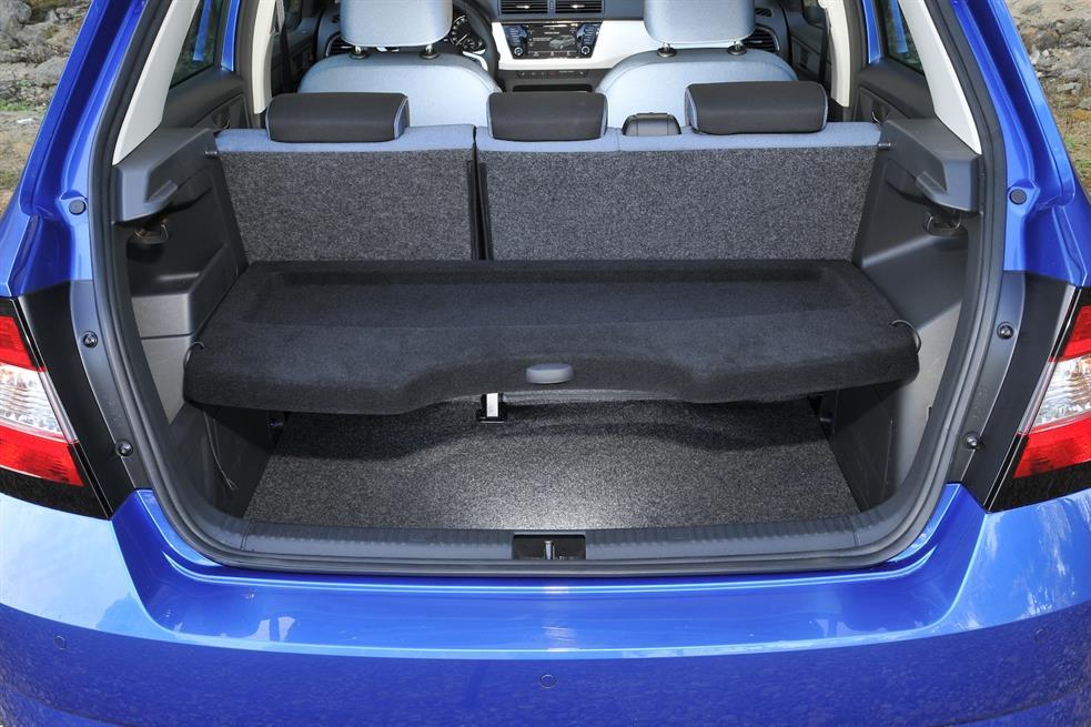 Шкода Фабия III: размер багажника меняется