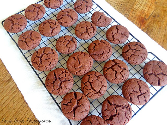Chocolate Christmas Cookies by Nigella Lawson