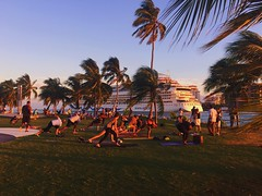 Cruise Ship & Yoga