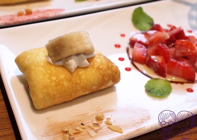 28 藝廊景觀餐廳 法式薄餅