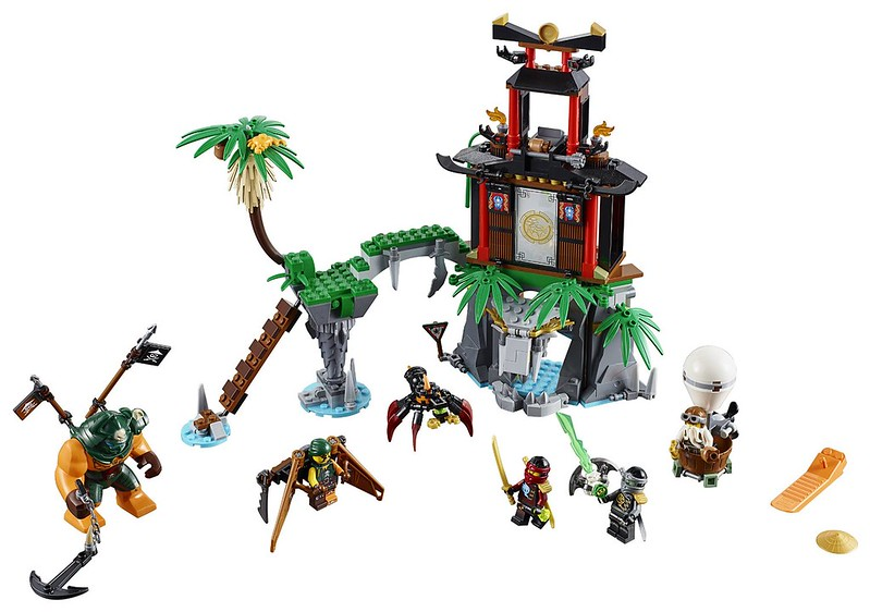 LEGO Ninjago 2016 | 70604 - Tiger Widow Island