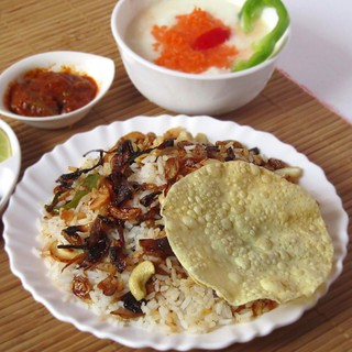 Simple Chicken Biriyani
