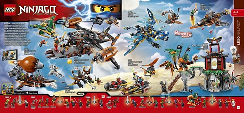 LEGO Ninjago Masters of Spinjitsu Pirates Katalog