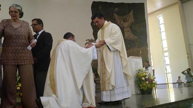 Ordenação Fr Almir, Fr Bernardo, Fr Joveci