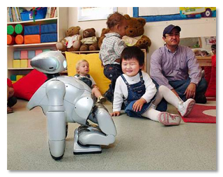 робот QRIO