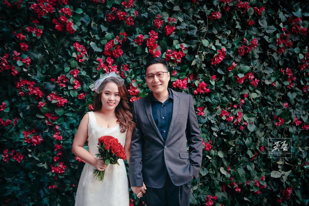婚攝英聖婚紗作品-陽明山-淺水彎-花牆-寶團-東區