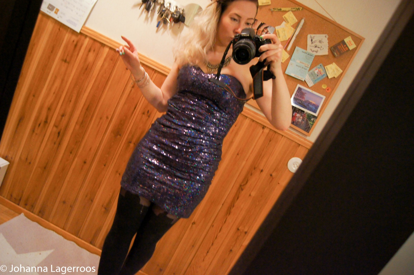 NYE sequin dress