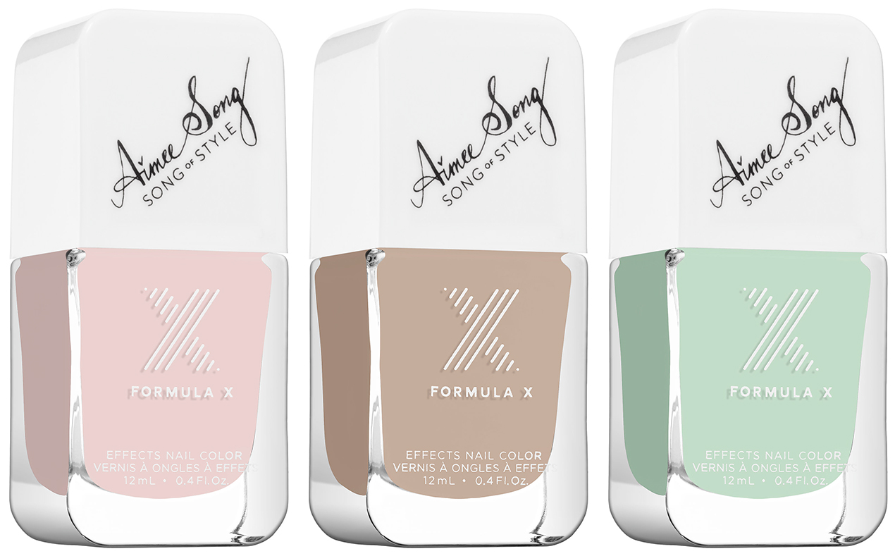Aimee Song Formula X Nail Polish Collaboration