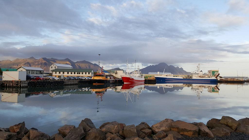 Hofn harbour, Iceland
