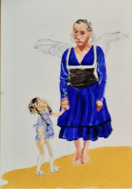 Little Angel (2015) - Paula Rego (1935)