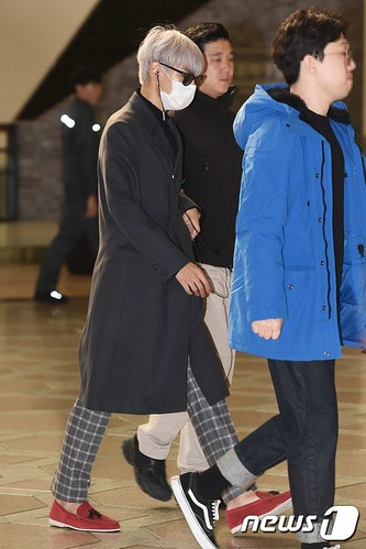 TOP Departure Seoul to Tokyo 2016-11-03 (3)