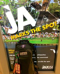 #JAX marks the spot. Where #NorthFloridaScouting begins! New #ScoutingAdventures. #ScoutIAR. The trail to #IASCHTX #InteramericanScoutConference #IARSC26 #ConferenciaScoutInteramericana #SMJoseTexas