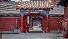 Buddhist Temple - Hohhot - Inner Mongolia - China