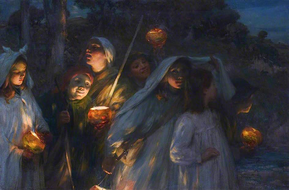 Hallowe'en by William Stewart MacGeorge, c.1911