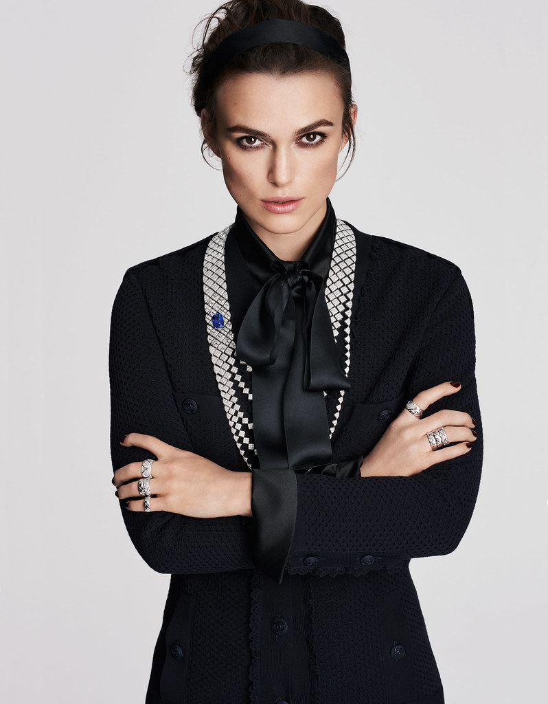 Кира Найтли — Фотосессия для «Chanel» 2016 – 3