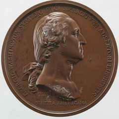 Washington Before Boston medal obverse