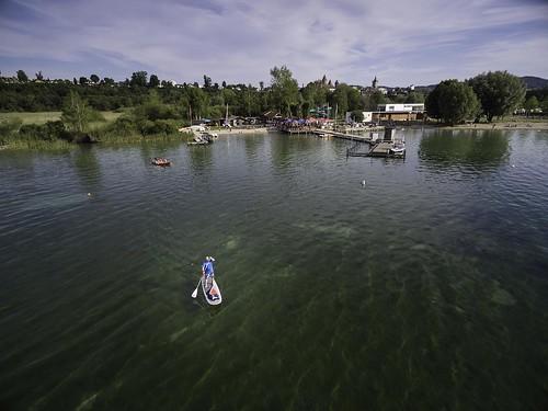 summer panorama lake schweiz switzerland see view suisse sommer lac été drone estavayerlelac fribourgregion estavayezlelac